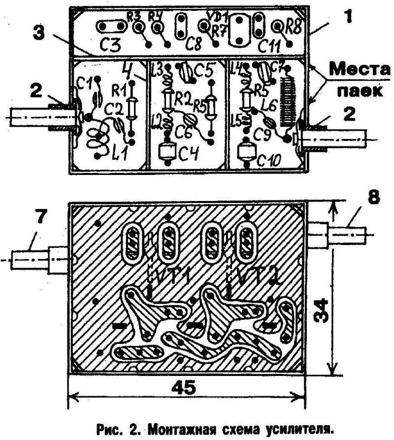 Выводы транзисторов должны